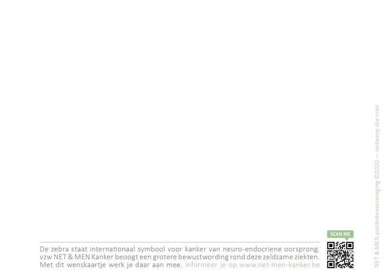 Voorstelling van de Beste Wens kaart 2021 | vzw NET & MEN Kanker