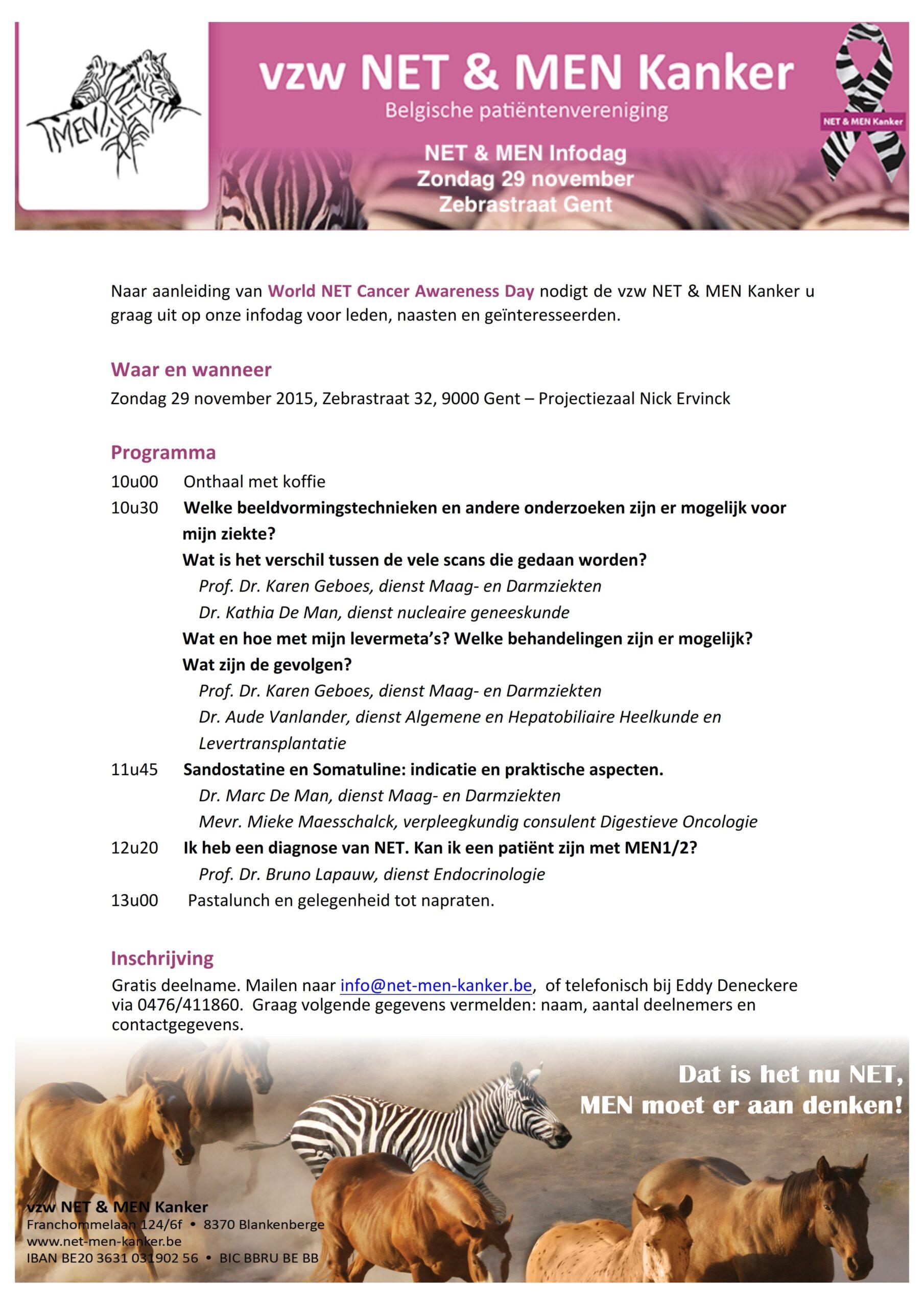 Programma INFOdag 2013