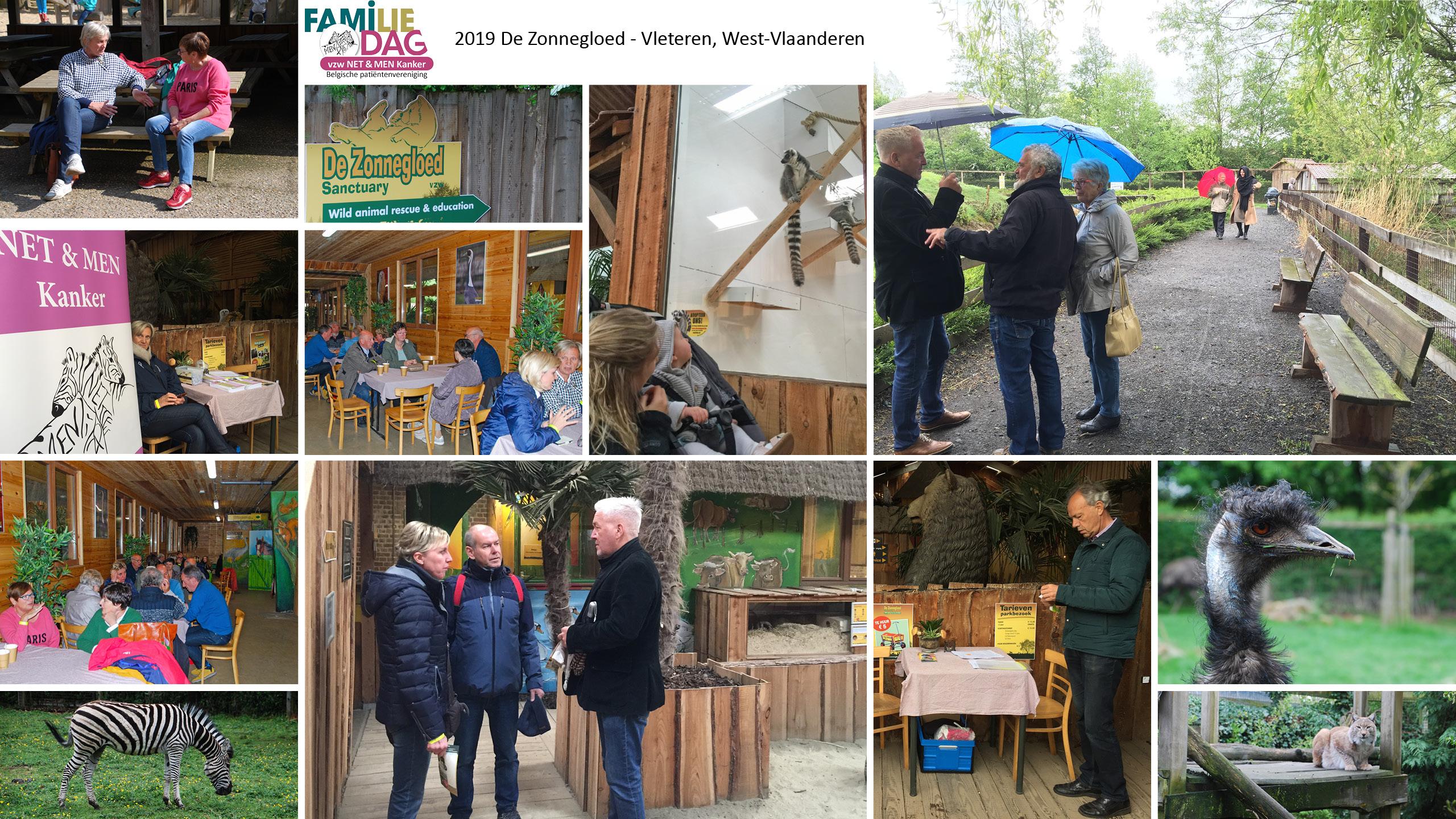 NET & MEN Familie bijeenkomst in 2019 in De Zonnegloed, West-Vlaanderen