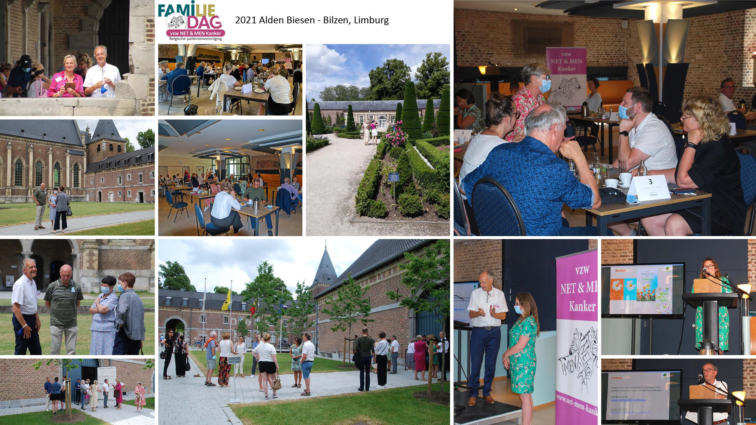 NET & MEN Familie bijeenkomst in 2021 in Alden Biesen Limburg