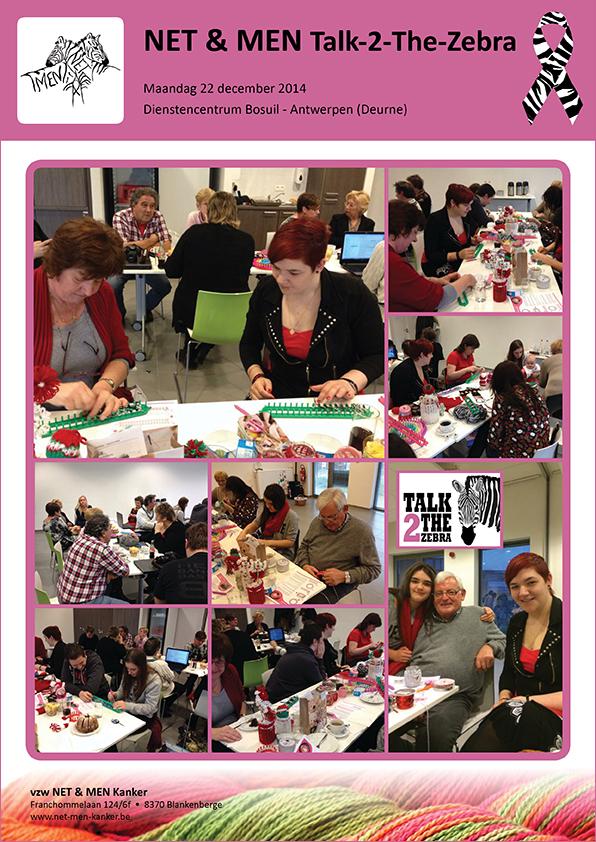 Talk 2the Zebra bijeenkomst in 2014 te Deurne