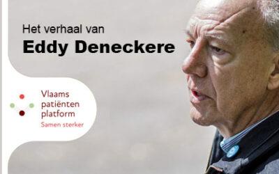 'Participeren en lotgenoten een stem geven', het verhaal van Eddy Deneckere